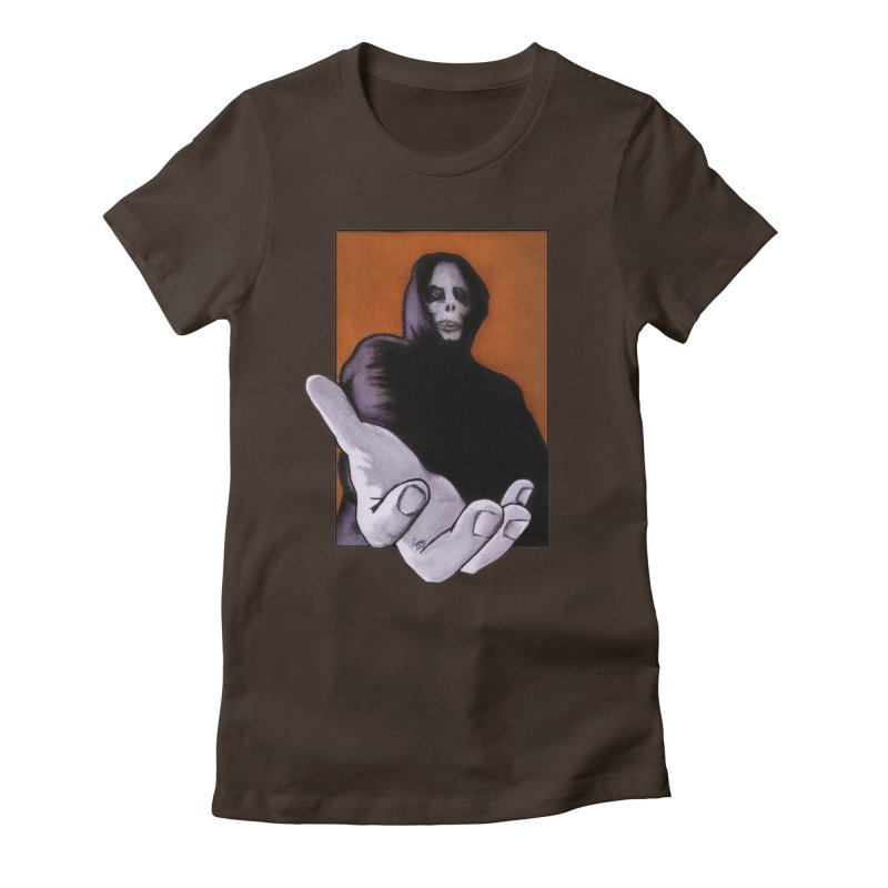 Death Goes In Fear Of What It Cannot Be Women's T-Shirt by Zombie Rust's Artist Shop