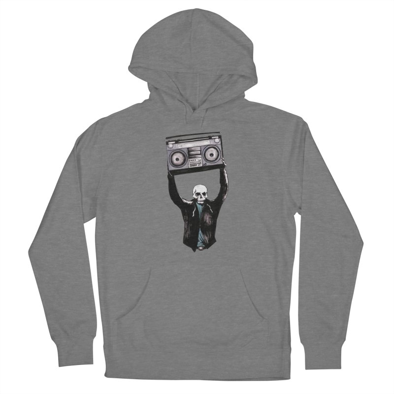 Boombox Women's Pullover Hoody by Zombie Rust's Artist Shop