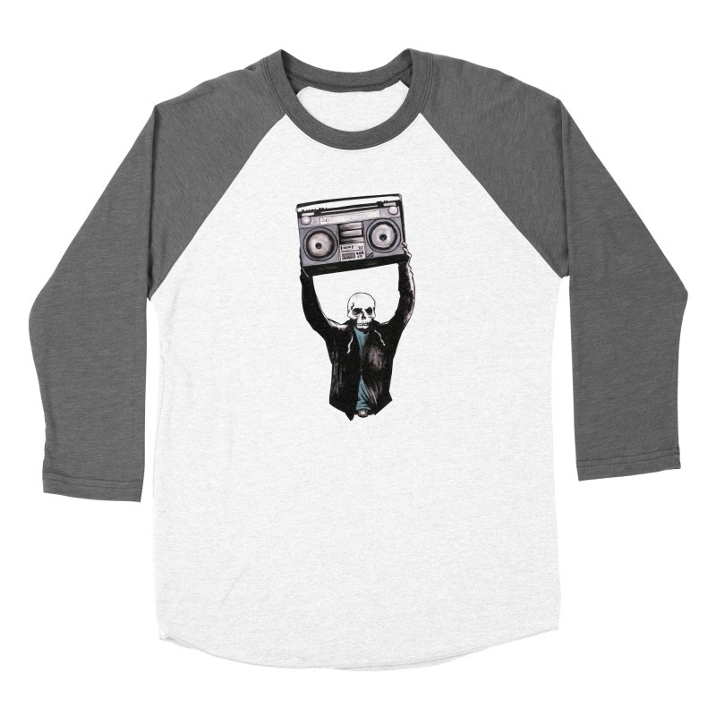 Boombox Women's Longsleeve T-Shirt by Zombie Rust's Artist Shop