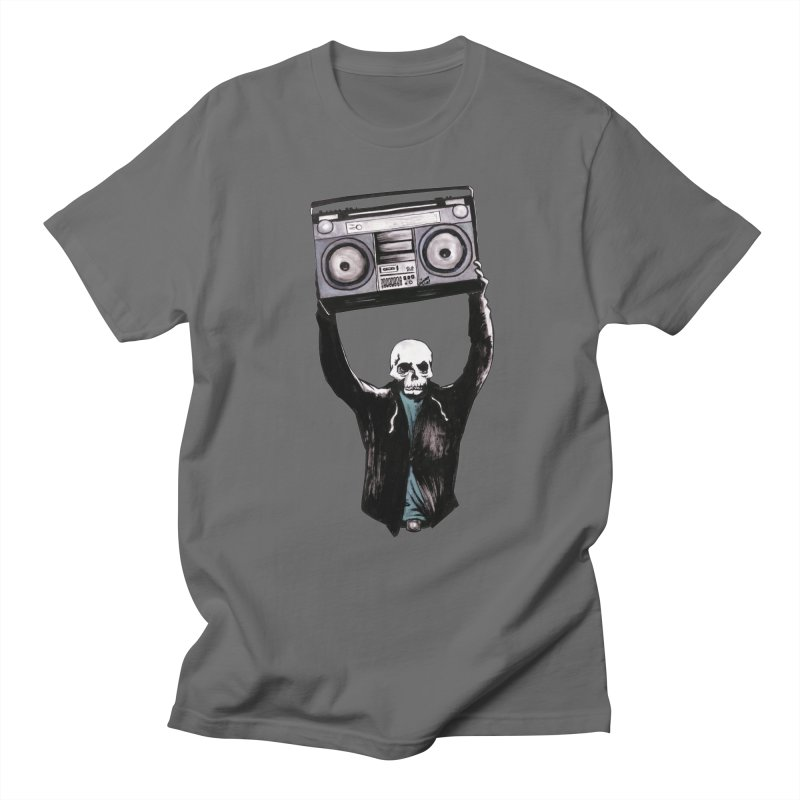 Boombox Men's T-Shirt by Zombie Rust's Artist Shop
