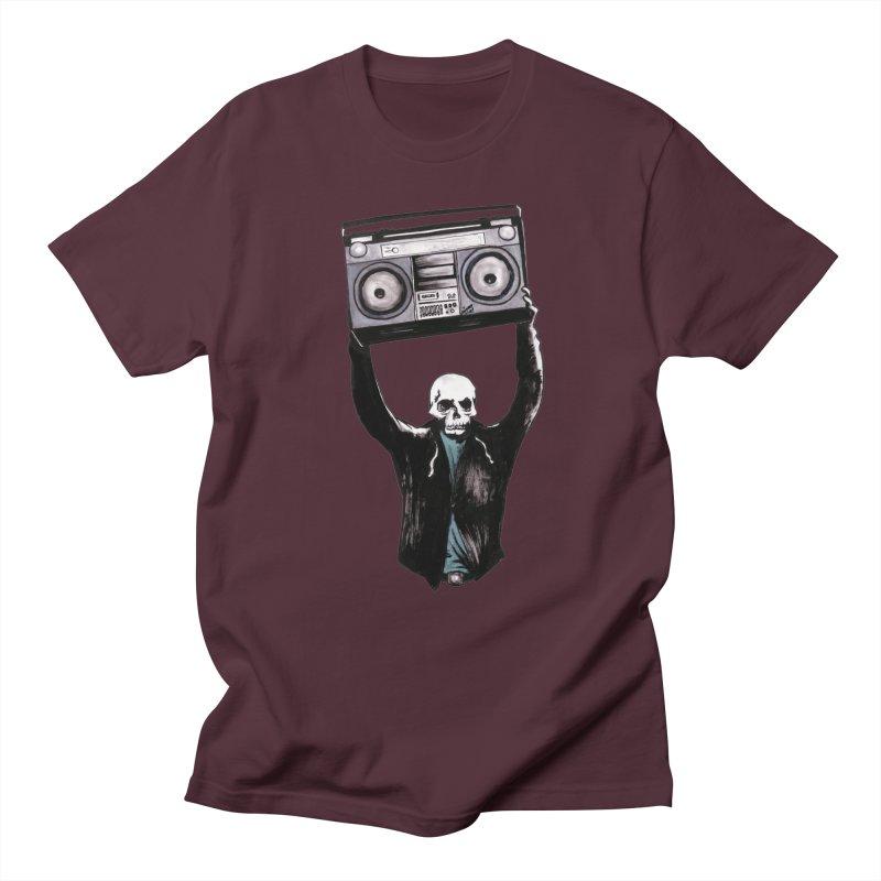 Boombox Men's T-Shirt by Zombie Rust's Artist Shop