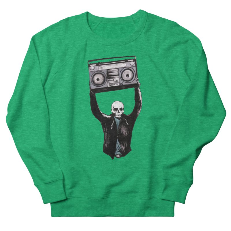 Boombox Women's Sweatshirt by Zombie Rust's Artist Shop