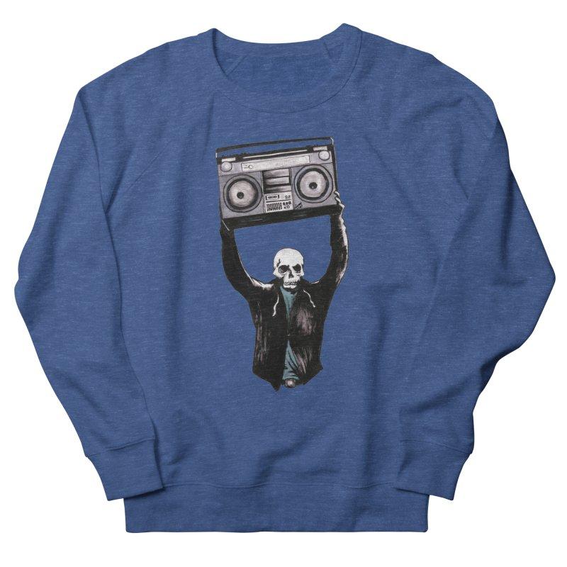 Boombox Men's Sweatshirt by Zombie Rust's Artist Shop