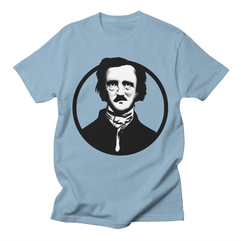 Poe Men's T-Shirt by Zombie Rust's Artist Shop