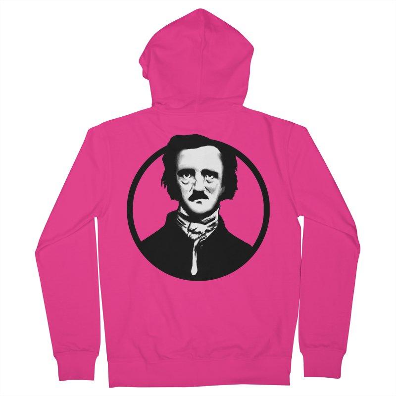 Poe Men's Zip-Up Hoody by Zombie Rust's Artist Shop