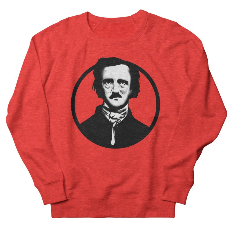 Poe Men's Sweatshirt by Zombie Rust's Artist Shop