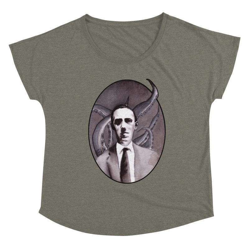 Shuddering At The Nameless Things Women's Scoop Neck by Zombie Rust's Artist Shop