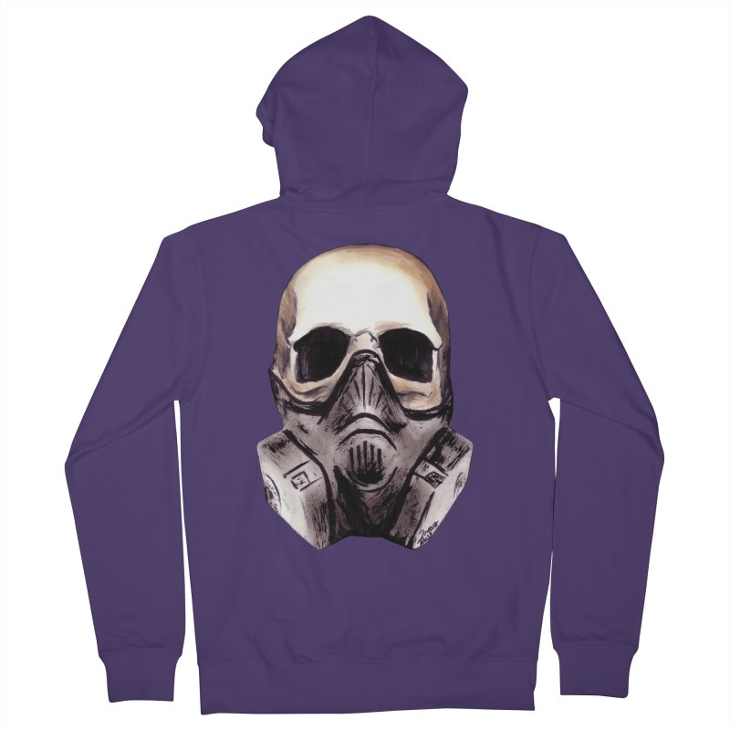 Apocalypse Women's Zip-Up Hoody by Zombie Rust's Artist Shop