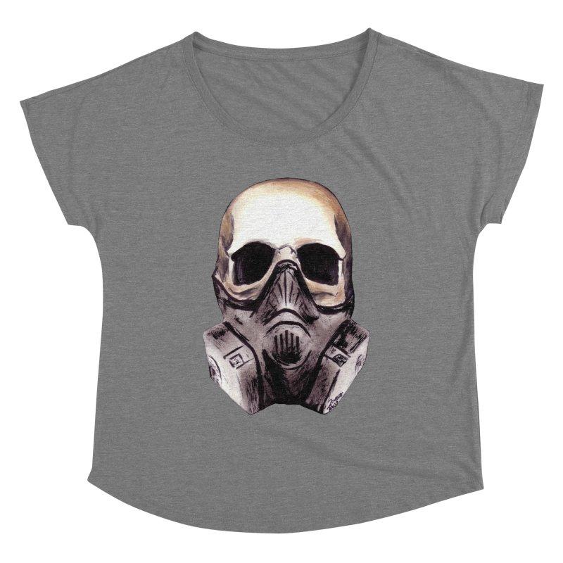Apocalypse Women's Scoop Neck by Zombie Rust's Artist Shop