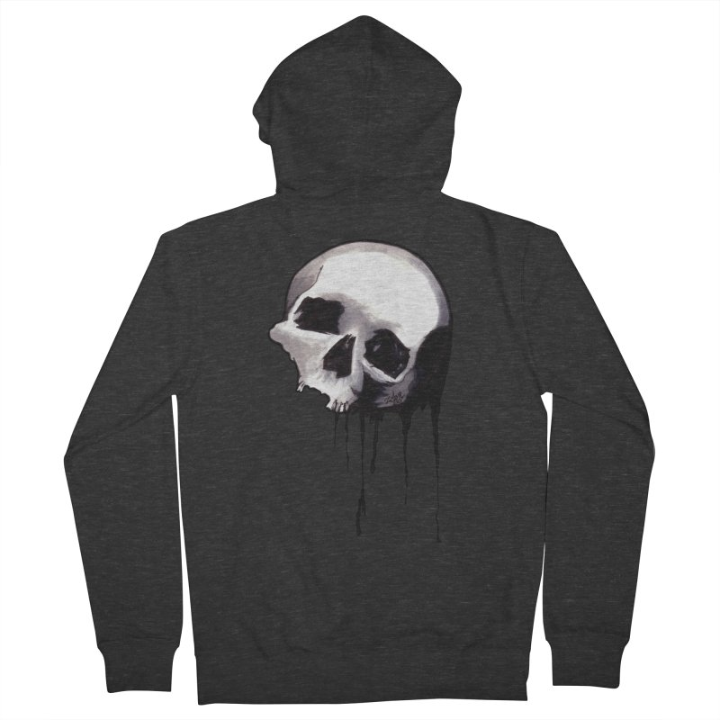 Bones VIII Women's Zip-Up Hoody by Zombie Rust's Artist Shop
