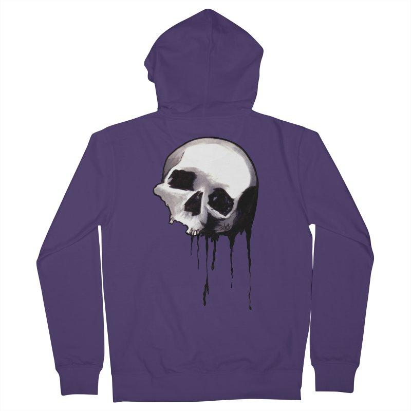 Bones VIII Women's Zip-Up Hoody by Zombie Rust's Artist Shop