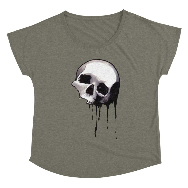 Bones VIII Women's Scoop Neck by Zombie Rust's Artist Shop