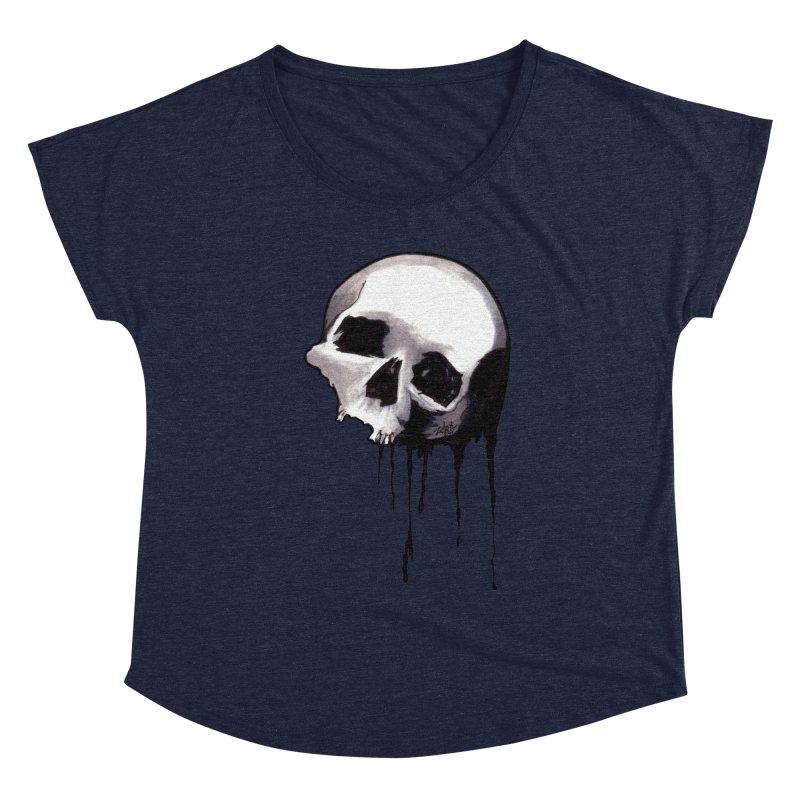 Bones VIII Women's Scoop Neck by Zombie Rust's Artist Shop