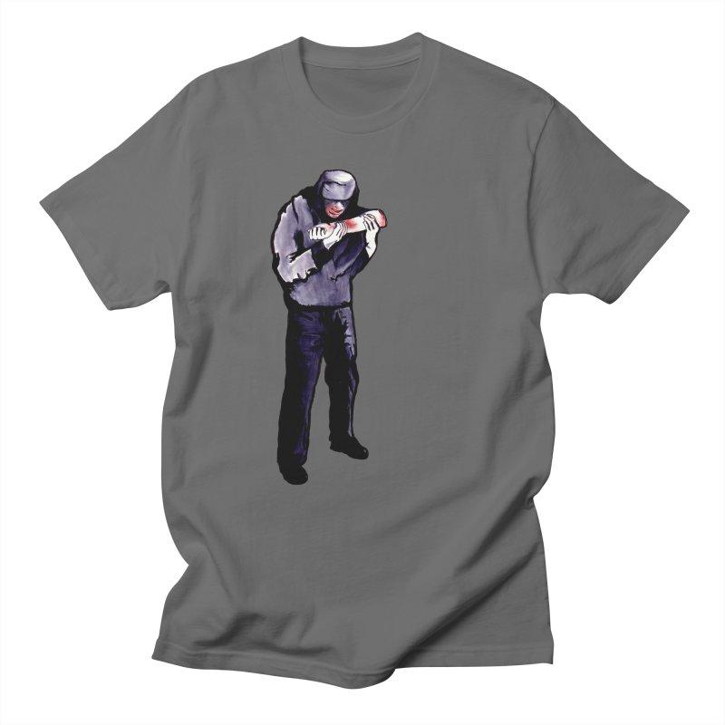 Cannibal Feast Men's T-Shirt by Zombie Rust's Artist Shop
