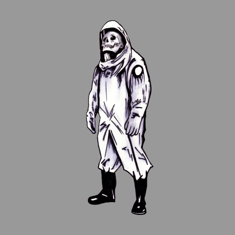 Contamination Women's Longsleeve T-Shirt by Zombie Rust's Artist Shop