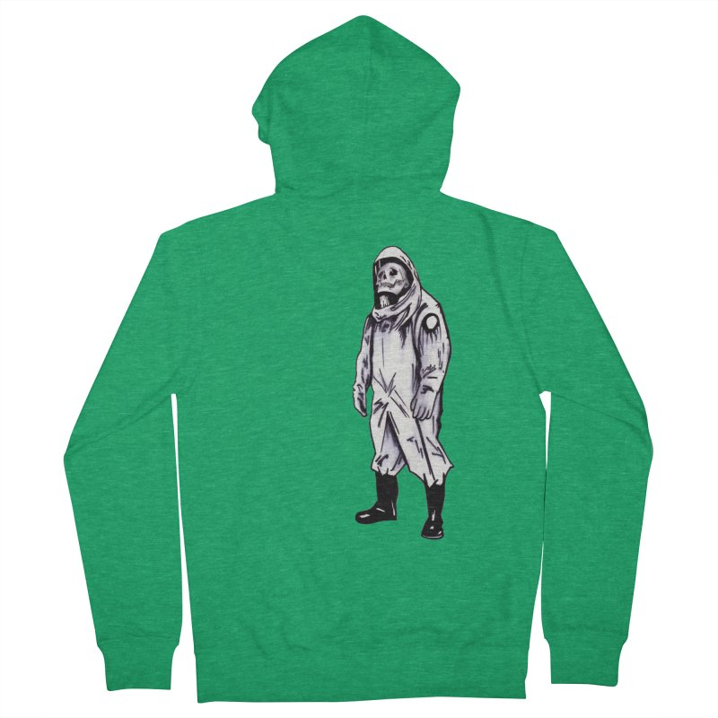 Contamination Women's Zip-Up Hoody by Zombie Rust's Artist Shop
