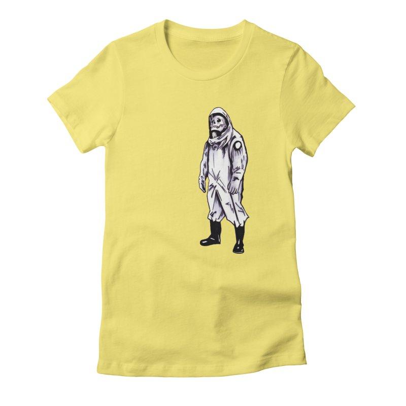 Contamination Women's T-Shirt by Zombie Rust's Artist Shop
