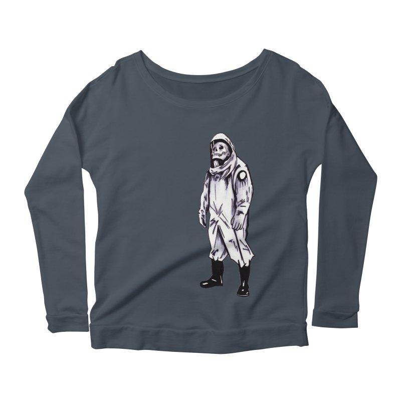 Contamination Women's Longsleeve T-Shirt by Zombie Rust's Artist Shop