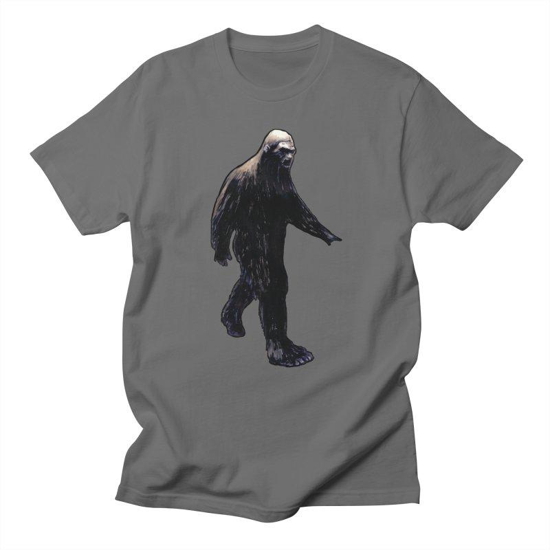 Bigfoot Men's T-Shirt by Zombie Rust's Artist Shop