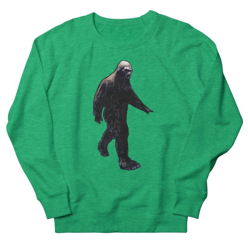 Bigfoot Women's Sweatshirt by Zombie Rust's Artist Shop