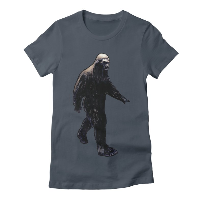 Bigfoot Women's T-Shirt by Zombie Rust's Artist Shop