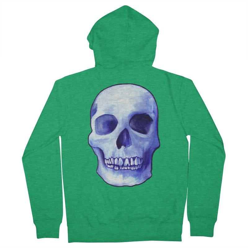 Bones IX Women's Zip-Up Hoody by Zombie Rust's Artist Shop