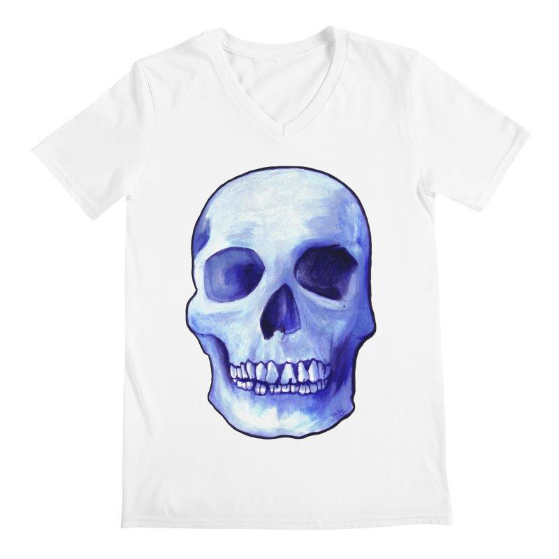 Bones IX Men's V-Neck by Zombie Rust's Artist Shop