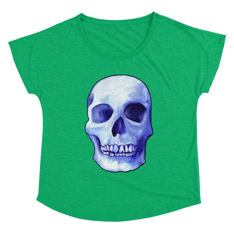 Bones IX Women's Scoop Neck by Zombie Rust's Artist Shop