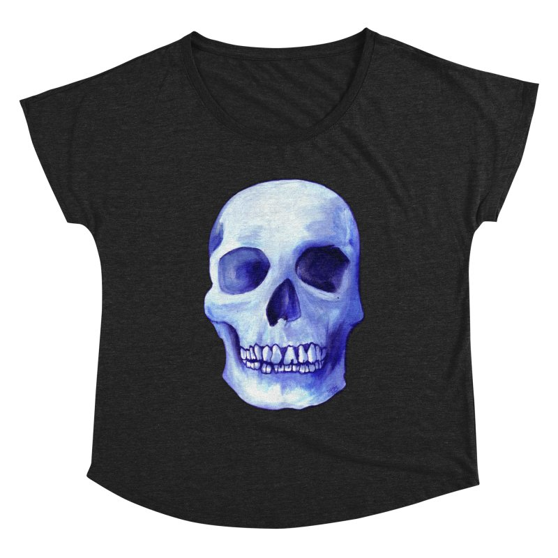 Bones IX Women's Scoop Neck by Zombie Rust's Artist Shop