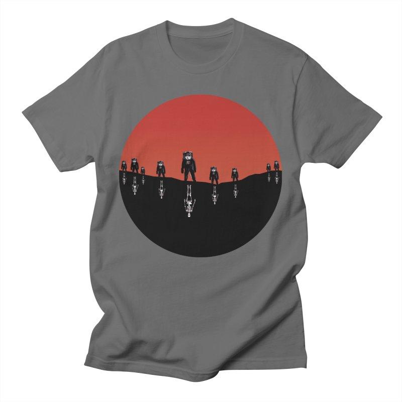 Something Strangely Familiar Men's T-Shirt by Zombie Rust's Artist Shop