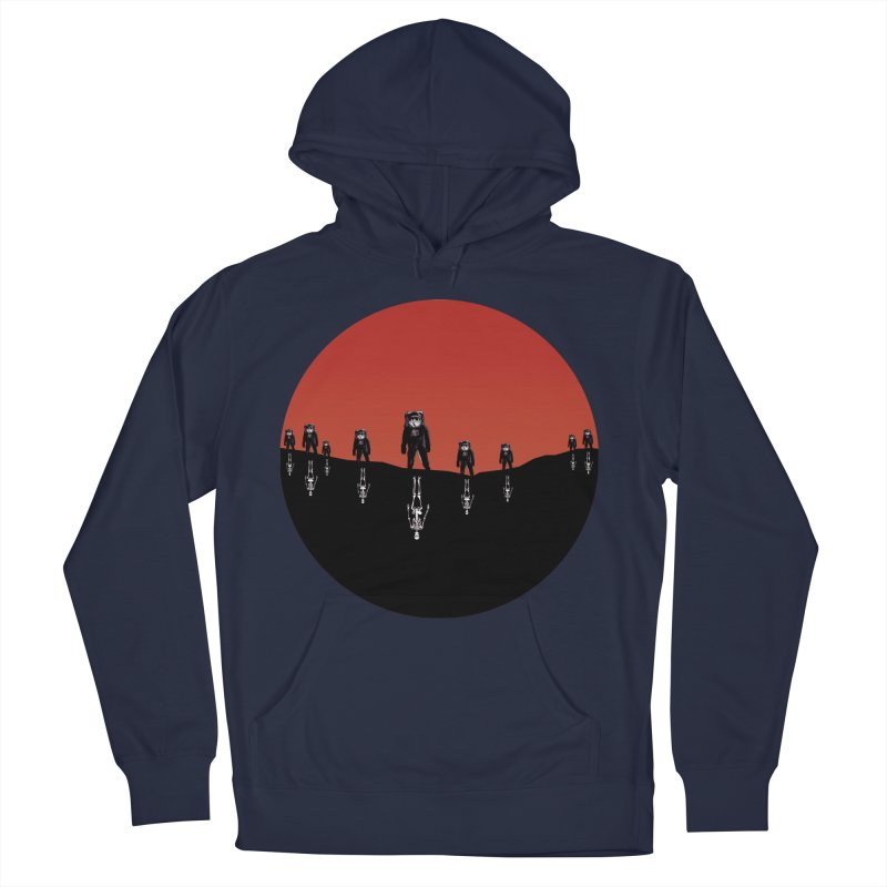 Something Strangely Familiar Women's French Terry Pullover Hoody by Zombie Rust's Artist Shop