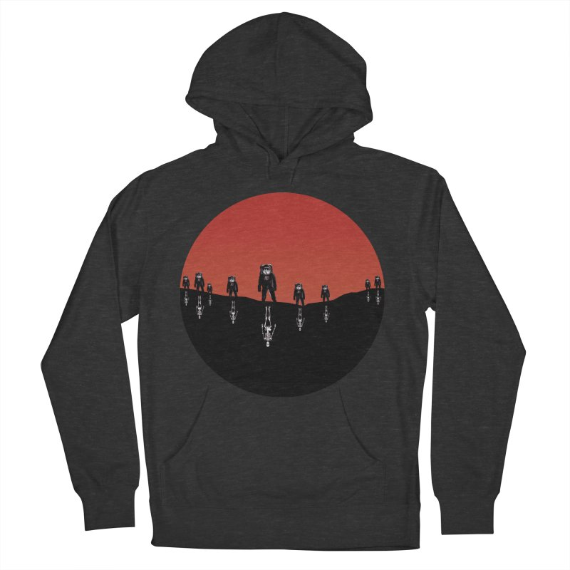 Something Strangely Familiar Men's Pullover Hoody by Zombie Rust's Artist Shop