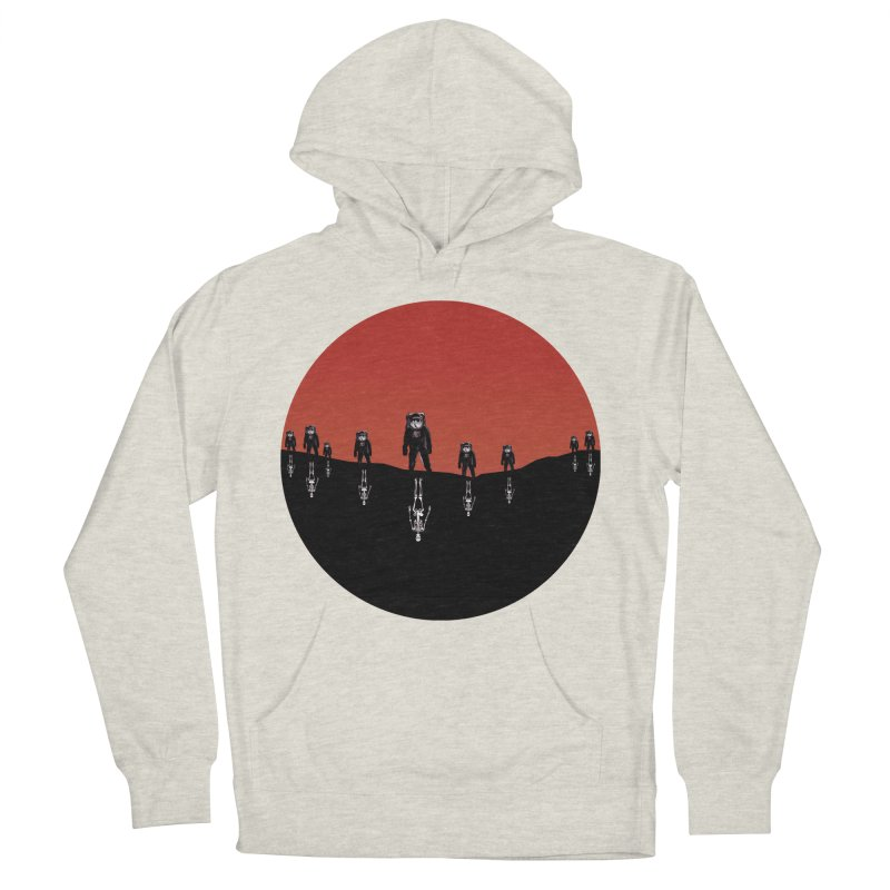 Something Strangely Familiar Men's French Terry Pullover Hoody by Zombie Rust's Artist Shop