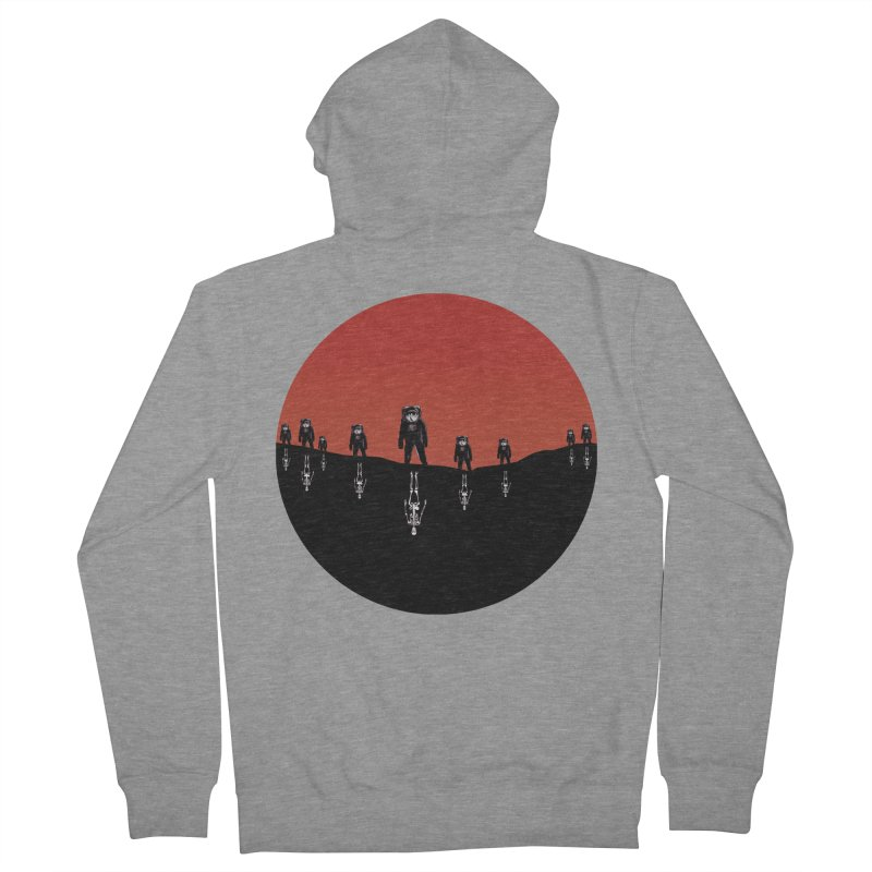 Something Strangely Familiar Women's French Terry Zip-Up Hoody by Zombie Rust's Artist Shop
