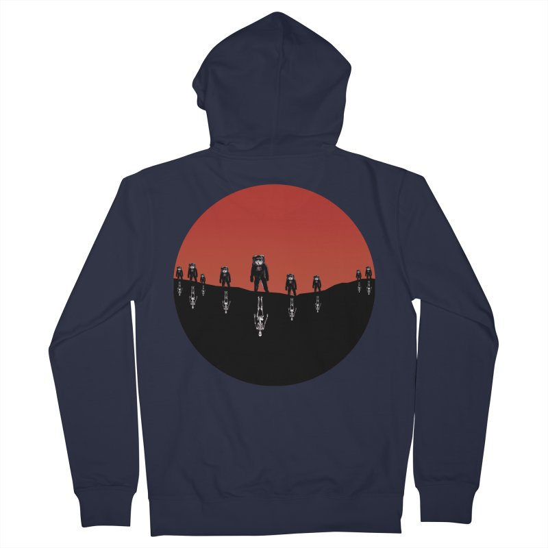 Something Strangely Familiar Men's Zip-Up Hoody by Zombie Rust's Artist Shop