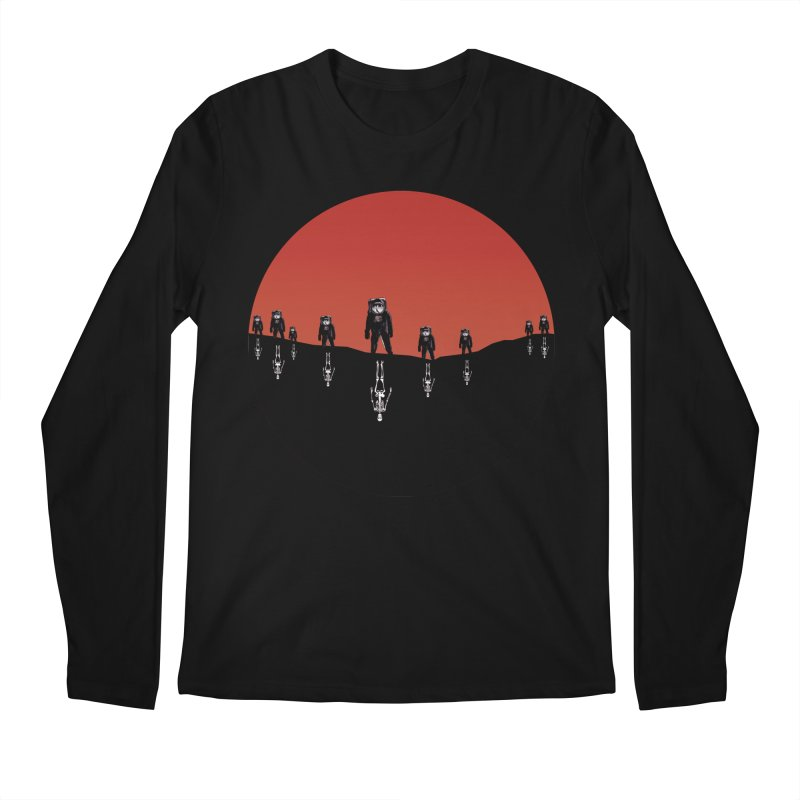 Something Strangely Familiar Men's Regular Longsleeve T-Shirt by Zombie Rust's Artist Shop