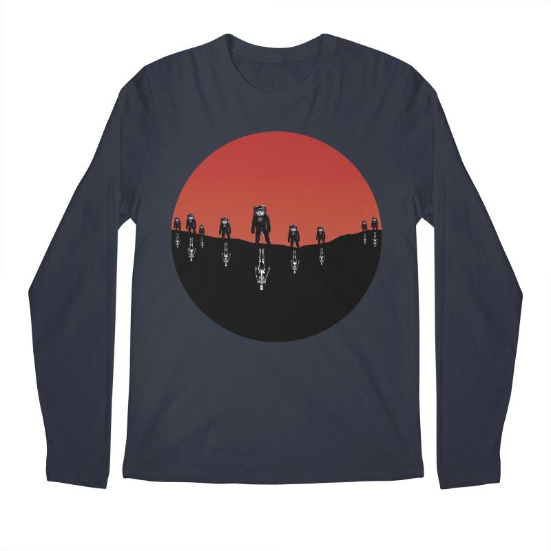 Something Strangely Familiar Men's Longsleeve T-Shirt by Zombie Rust's Artist Shop