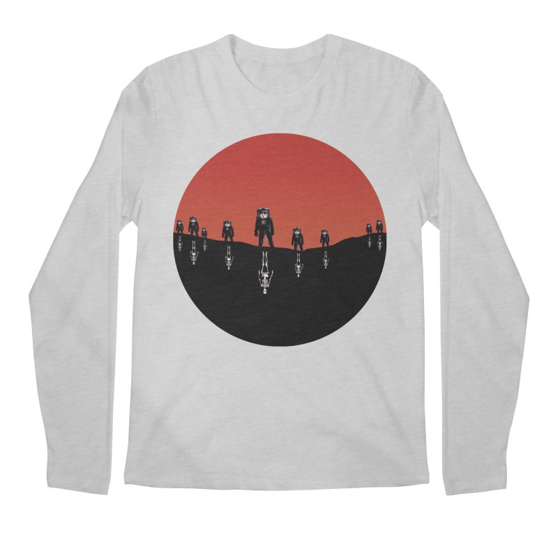 Something Strangely Familiar Men's Regular Longsleeve T-Shirt by Zombie Rust's Artist Shop