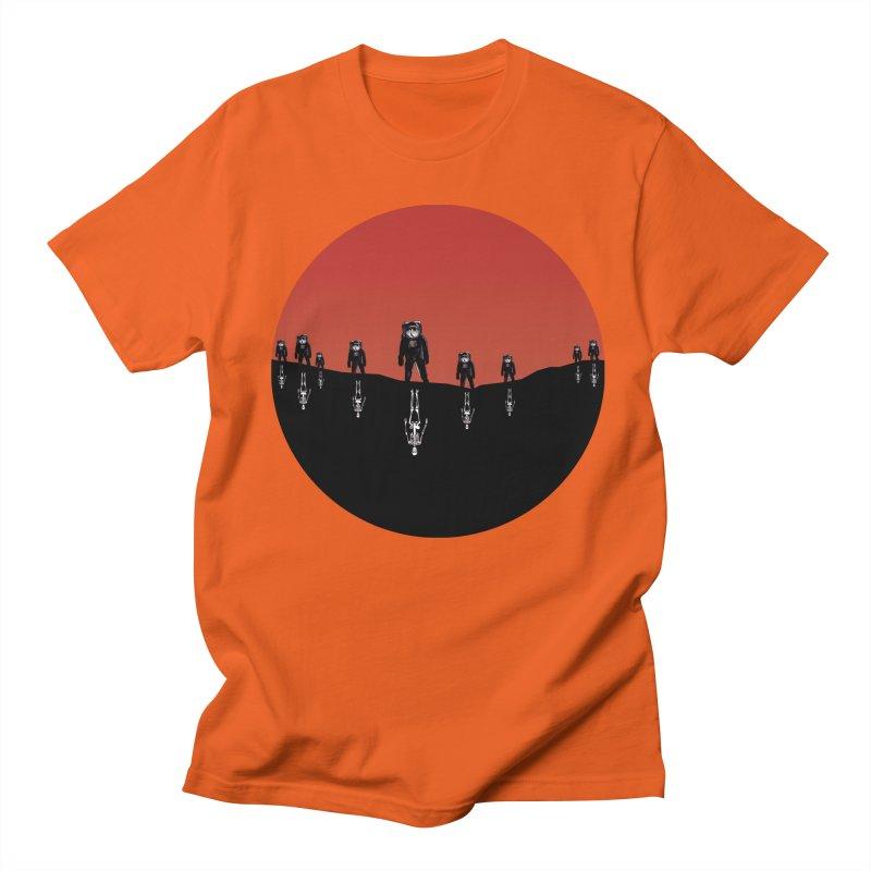 Something Strangely Familiar Men's Regular T-Shirt by Zombie Rust's Artist Shop