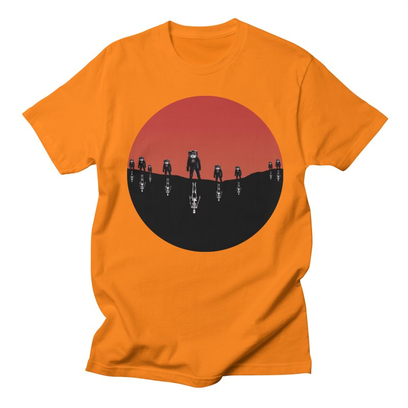 Something Strangely Familiar Men's T-shirt by Zombie Rust's Artist Shop