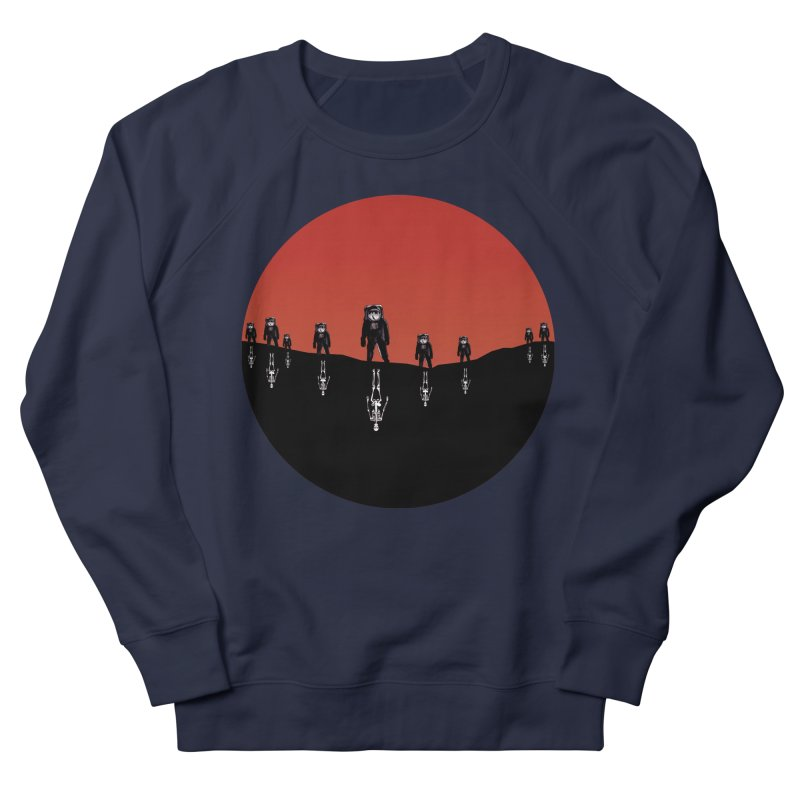 Something Strangely Familiar Women's French Terry Sweatshirt by Zombie Rust's Artist Shop