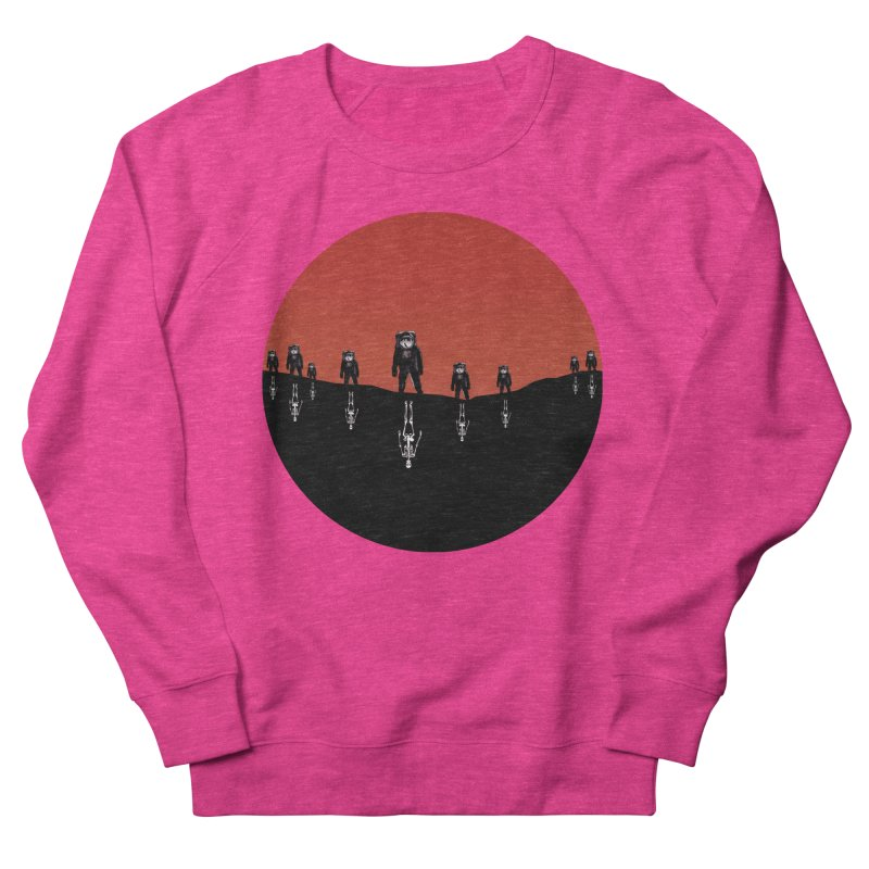 Something Strangely Familiar Men's French Terry Sweatshirt by Zombie Rust's Artist Shop