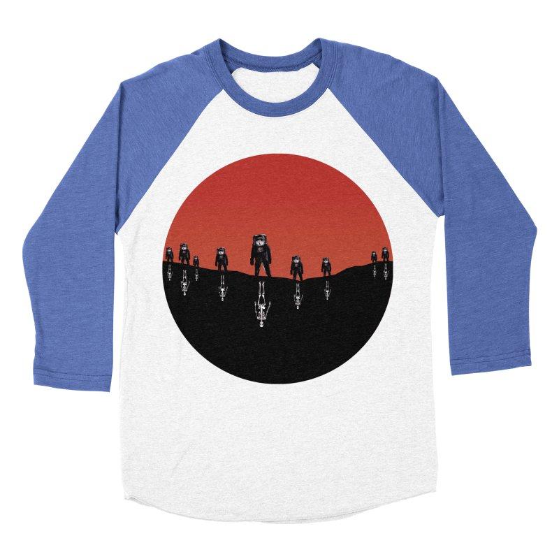 Something Strangely Familiar Women's Baseball Triblend T-Shirt by Zombie Rust's Artist Shop