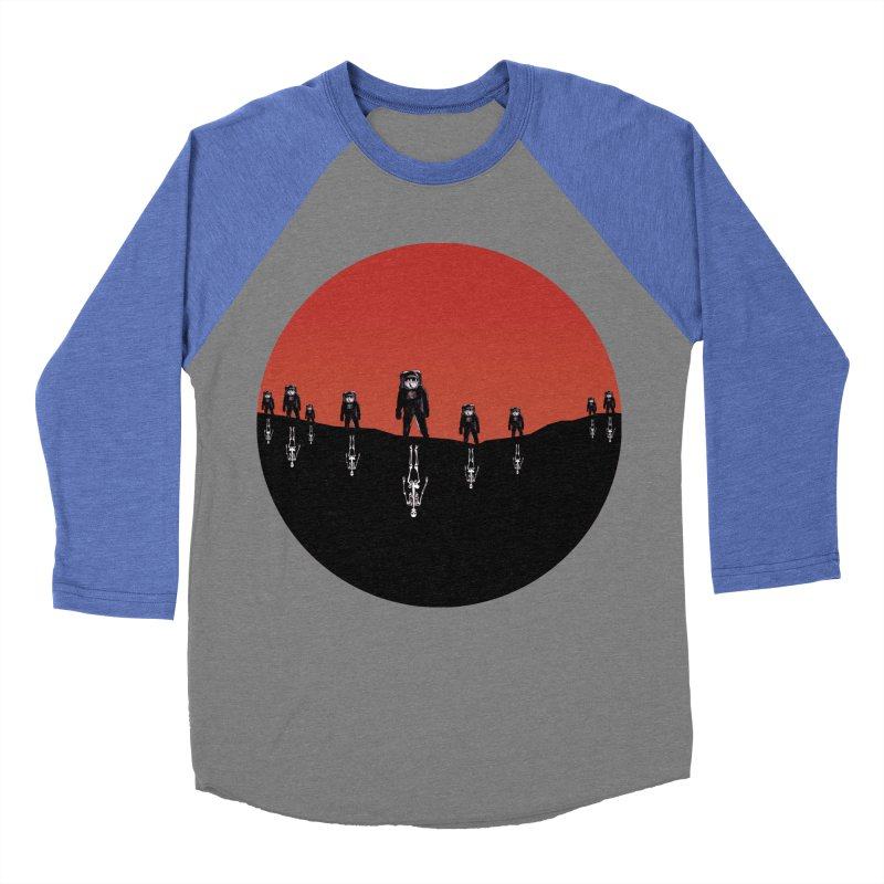 Something Strangely Familiar Men's Baseball Triblend Longsleeve T-Shirt by Zombie Rust's Artist Shop
