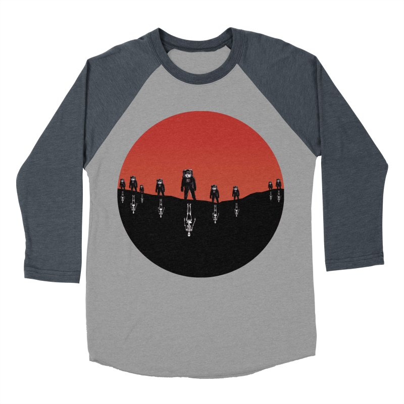 Something Strangely Familiar Men's Baseball Triblend T-Shirt by Zombie Rust's Artist Shop