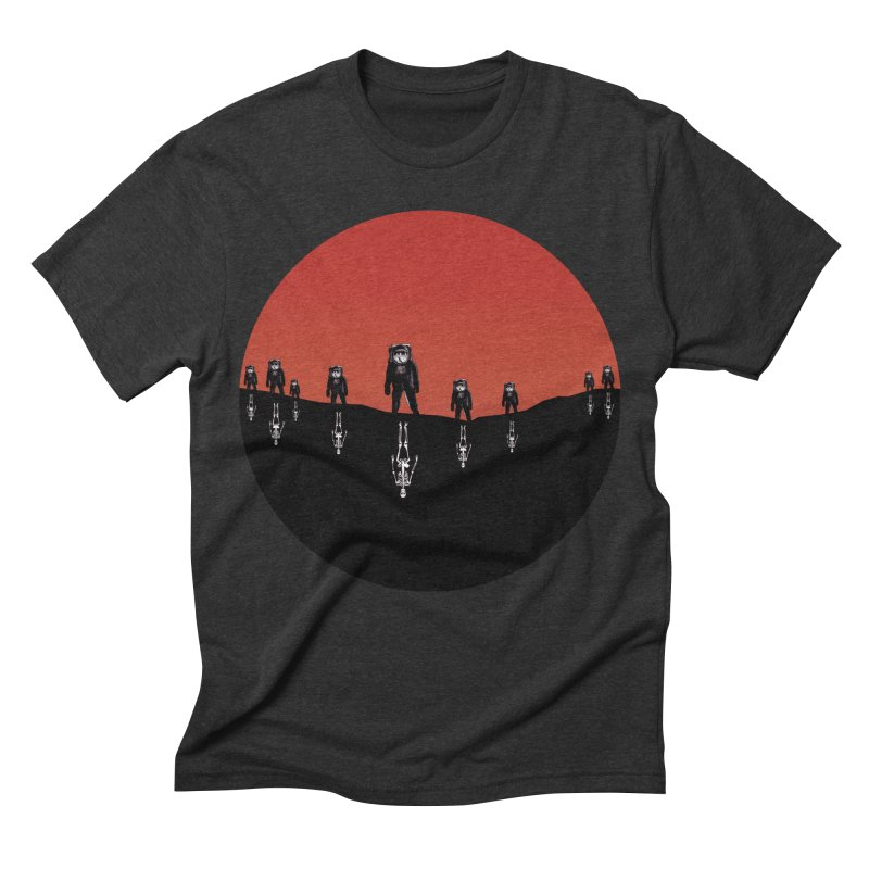 Something Strangely Familiar Men's Triblend T-shirt by Zombie Rust's Artist Shop