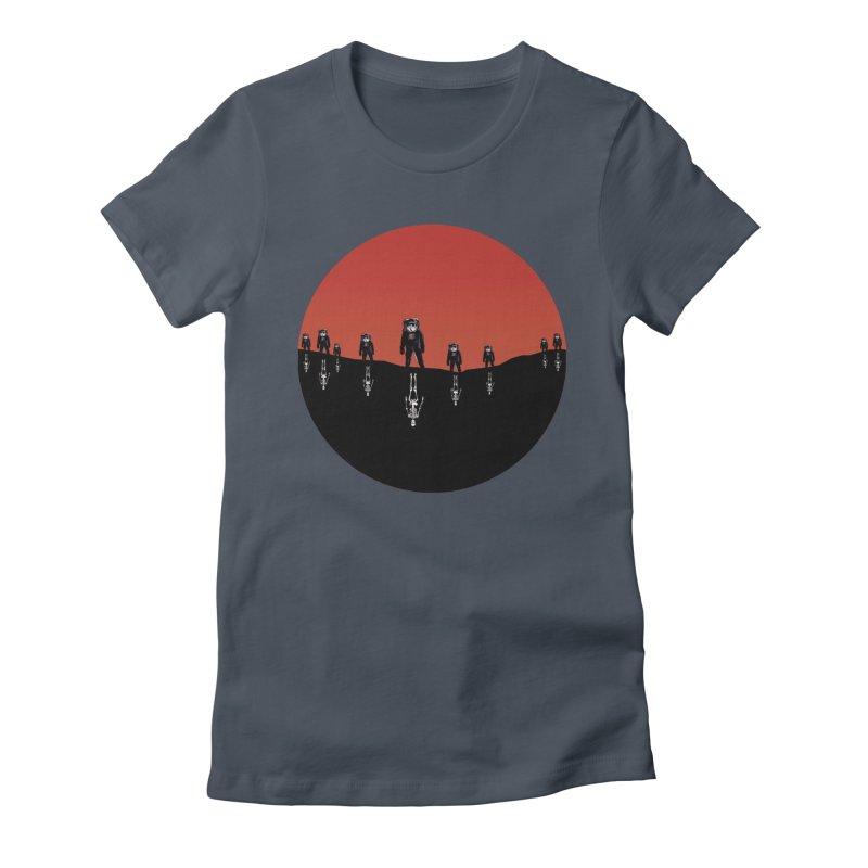 Something Strangely Familiar Women's T-Shirt by Zombie Rust's Artist Shop
