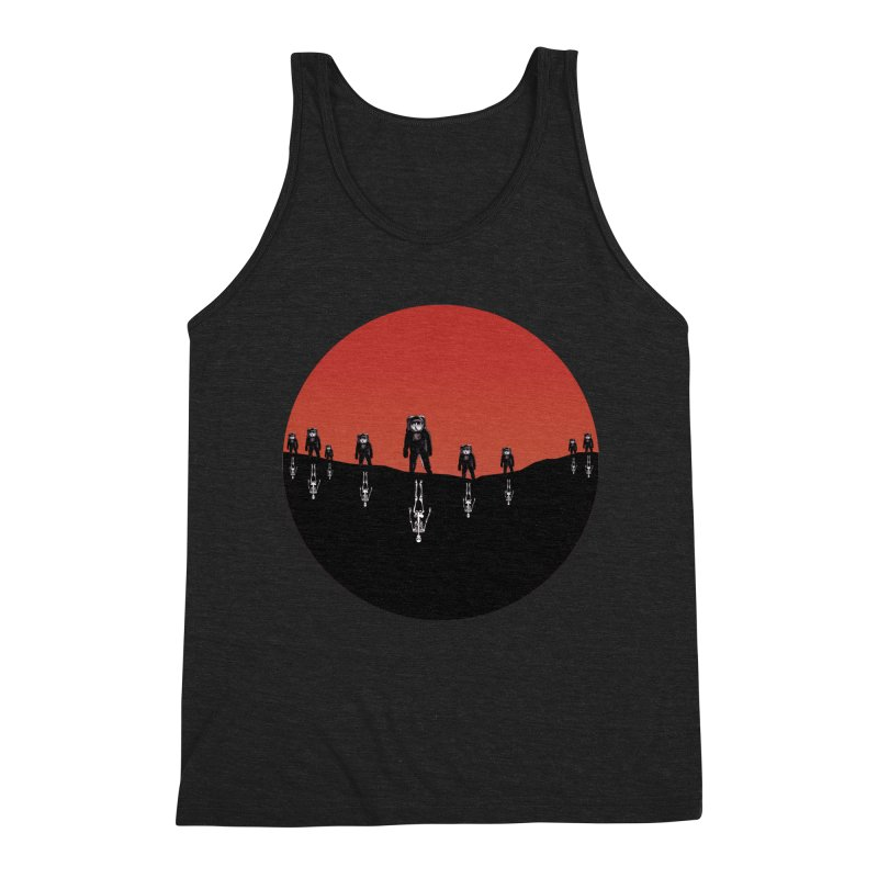 Something Strangely Familiar Men's Tank by Zombie Rust's Artist Shop