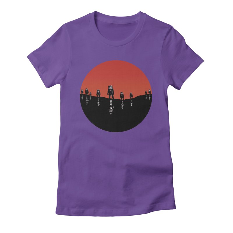 Something Strangely Familiar Women's Fitted T-Shirt by Zombie Rust's Artist Shop