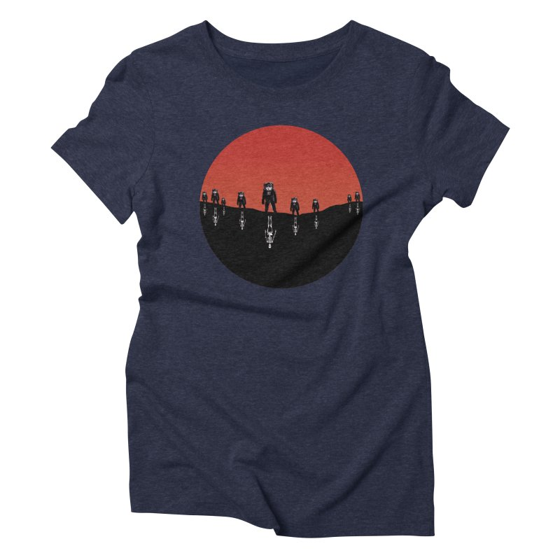 Something Strangely Familiar Women's Triblend T-shirt by Zombie Rust's Artist Shop